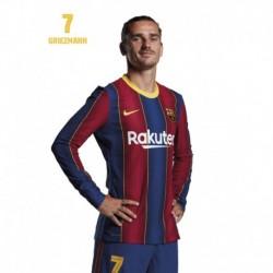 Postal Fc Barcelona 2020/2021 Griezmann Busto