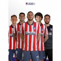 Postal Atletico De Madrid 2020/2021 Grupo