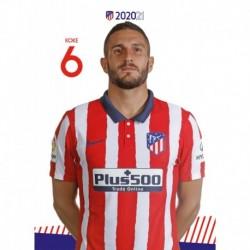 Postal Atletico De Madrid 2020/2021 Koke