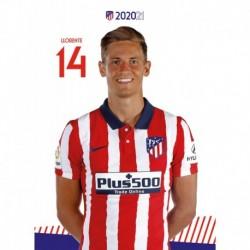 Postal Atletico De Madrid 2020/2021 Llorente