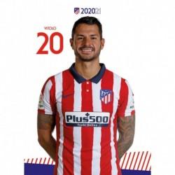 Postal Atletico De Madrid 2020/2021 Vitolo