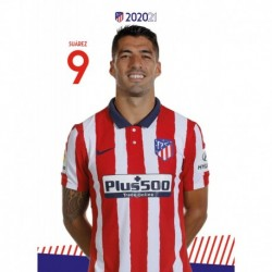 Postal Atletico De Madrid 2020/2021 Luis Suarez