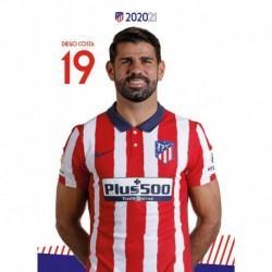 Postal Atletico De Madrid 2020/2021 Diego Costa