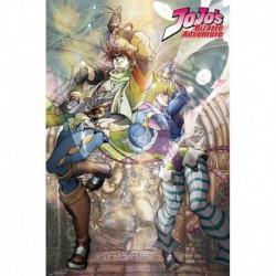 Póster XXL Jojo'S Bizarre Adventure Joseph And Caesar