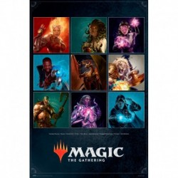 Póster Grande XXL Magic The Gathering Characters