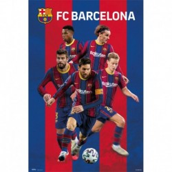 Póster Grande XXL Fc Barcelona 2020/2021 Grupo