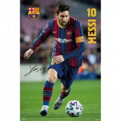 Poster Fc Barcelona 2020/2021 Messi
