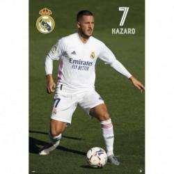 Póster Grande XXL Real Madrid Hazard