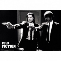 Poster Pulp Fiction Divine Intervention