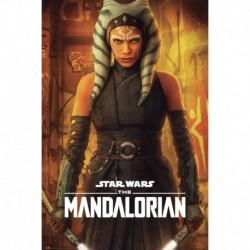 Póster Star Wars The Mandalorian Ahsoka Tano
