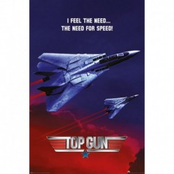 Póster Grande XXL Top Gun The Need For Speed