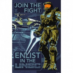 Póster Grande XXL Halo Infinite Join The Fight