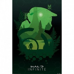 Póster Grande XXL Halo Infinite Lakeside