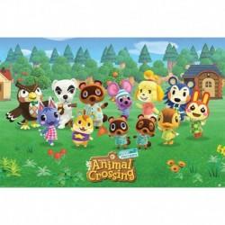 Póster Grande XXL Animal Crossing Lineup
