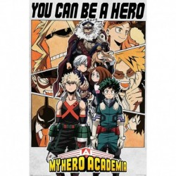 Poster My Hero Academia Be A Hero