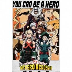 Póster Grande XXL My Hero Academia Be A Hero