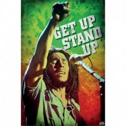 Póster Grande XXL Bob Marley Get Up Stand Up