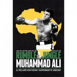 Póster Muhammad Ali Rumble In The Jungle