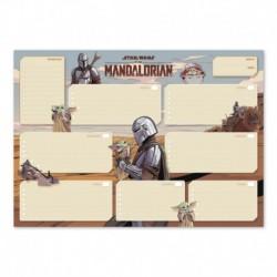 Bloc Planificador Semanal A3 Star Wars The Mandalorian