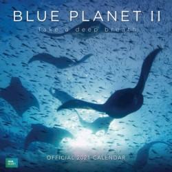 Calendario 2021 30X30 Bbc Blue Planet