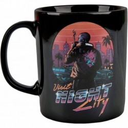 Taza Cyberpunk 2077 Night City Sunset