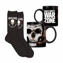 Set Taza Y Calcetines Call Of Duty Warzone