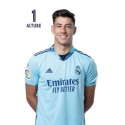 Postal Real Madrid 2020/2021 Altube Busto