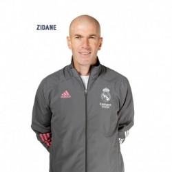 Postal Real Madrid 2020/2021 Zidane Busto