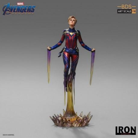 Figura Bds Art Scale 1/10 Vengadores: Endgame Capitana Marvel