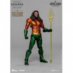 Figura Dc Justice League Aquaman Comic Color Version