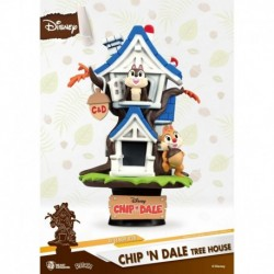 Figura Disney-Chip 'N Dale Tree House
