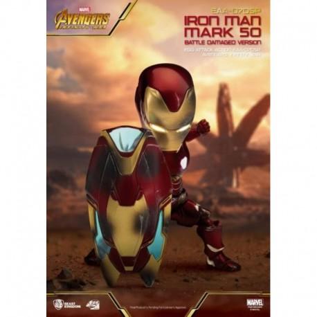 Figura Marvel Avengers Infinity War Iron Man Mark L Battle Damaged Version