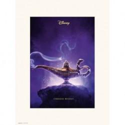 Print 30X40 Cm Disney Aladdin One Sheet