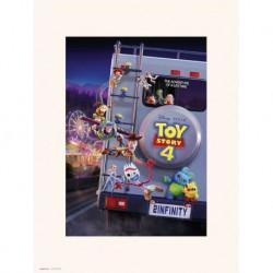 Print 30X40 Cm Disney Toy Story 4 To Infinity