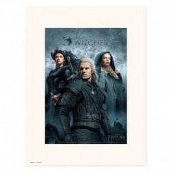 Print 30X40 Cm The Witcher Chracters