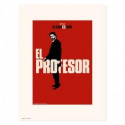Print 30X40 Cm El Profesor