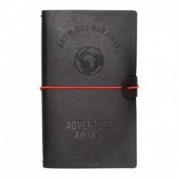 Cuaderno De Viaje Tapa Cuero Wanderlust
