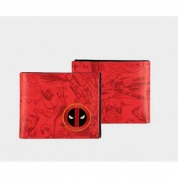 Cartera Marvel Deadpool Grafitti