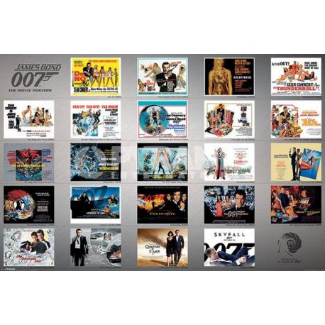 Poster James Bond 23 Peliculas