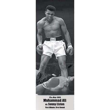 Poster Puerta Muhammad Ali VS Liston