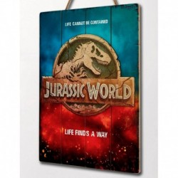 Cuadro De Madera 3D Jurassic World Life Finds A Way Internacional