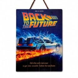 Cuadro De Madera 3D Regreso Al Futuro 1985 Internacional