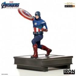 Figura Bds Art Scale 1/10 Marvel Los Vengadores: Endgame Capitan America 2012