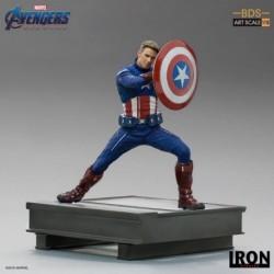 Figura Bds Art Scale 1/10 Marvel Los Vengadores: Endgame Capitan America 2023