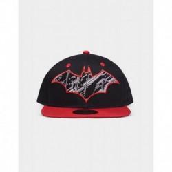 Gorra Dc Comics Batman Logo Rojo