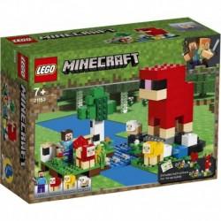 Lego Minecraft La Granja De Lana