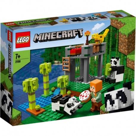Lego Minecraft El Criadero De Pandas