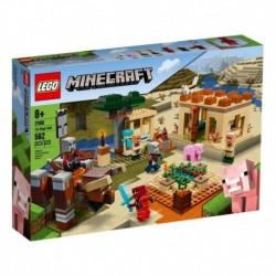 Lego Minecraft La Invasion De Los Illager