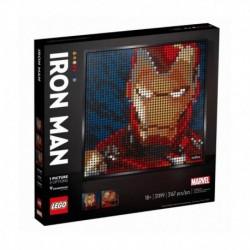 Lego Art Marvel Iron Man