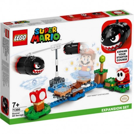 Lego Nintendo Super Mario Bros Avalancha De Bill Balazos